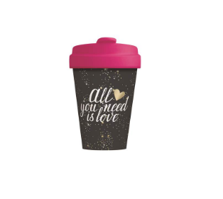 Chic.Mic Bamboo Cup All you Need is Love