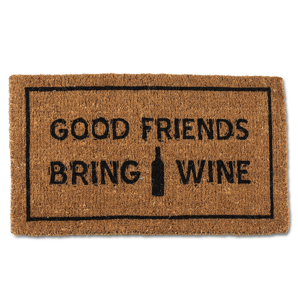 Abbott Doormat - Friends & Wine