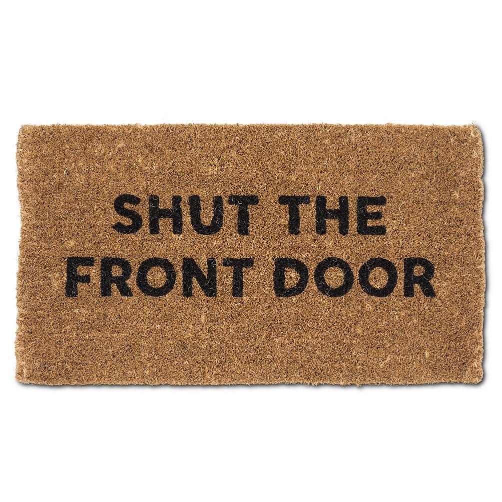 Abbott Doormat - Shut Door
