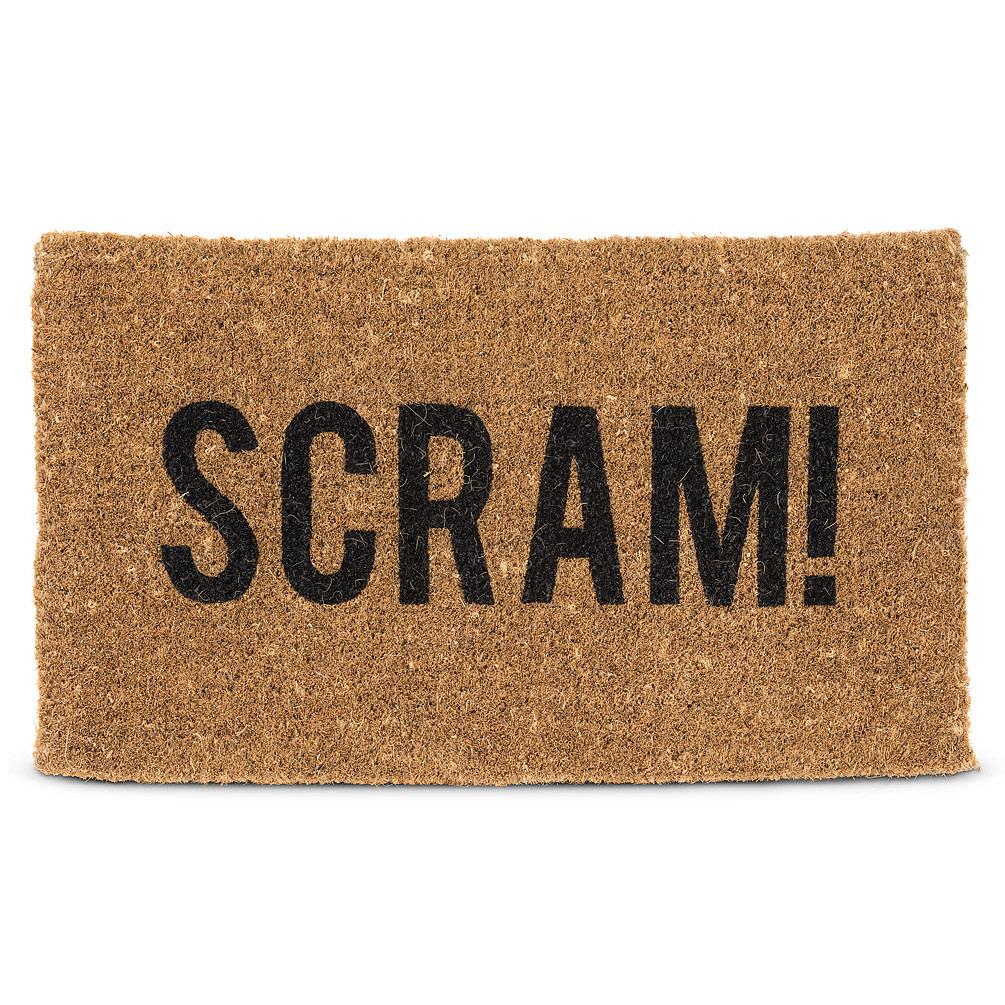 Abbott Doormat - Scram