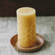 Bees Wax Works Beeswax Hex 5.0 Pillar Candle 50+