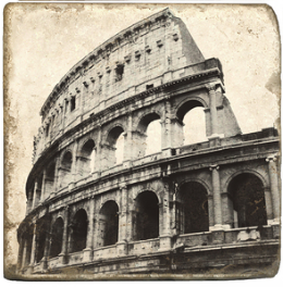 Rome III - Marble Coaster