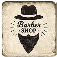 Barbershop A - Marble Coaster