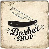 Barbershop B - Marble Coaster