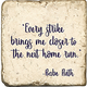 Inspirational Quote Ruth - Marble Coaster