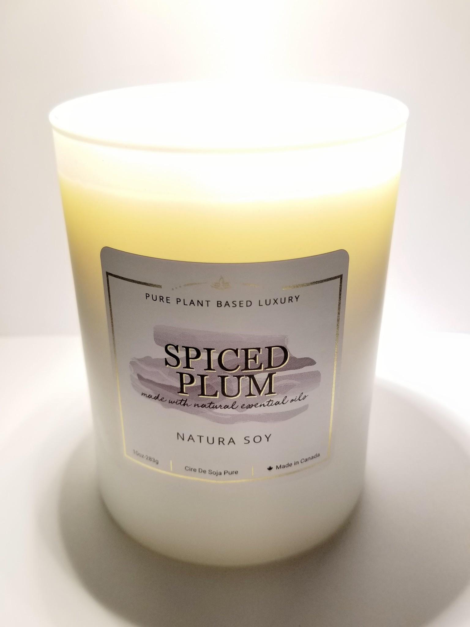Natura Soy Tumbler Jar: Spiced Plum