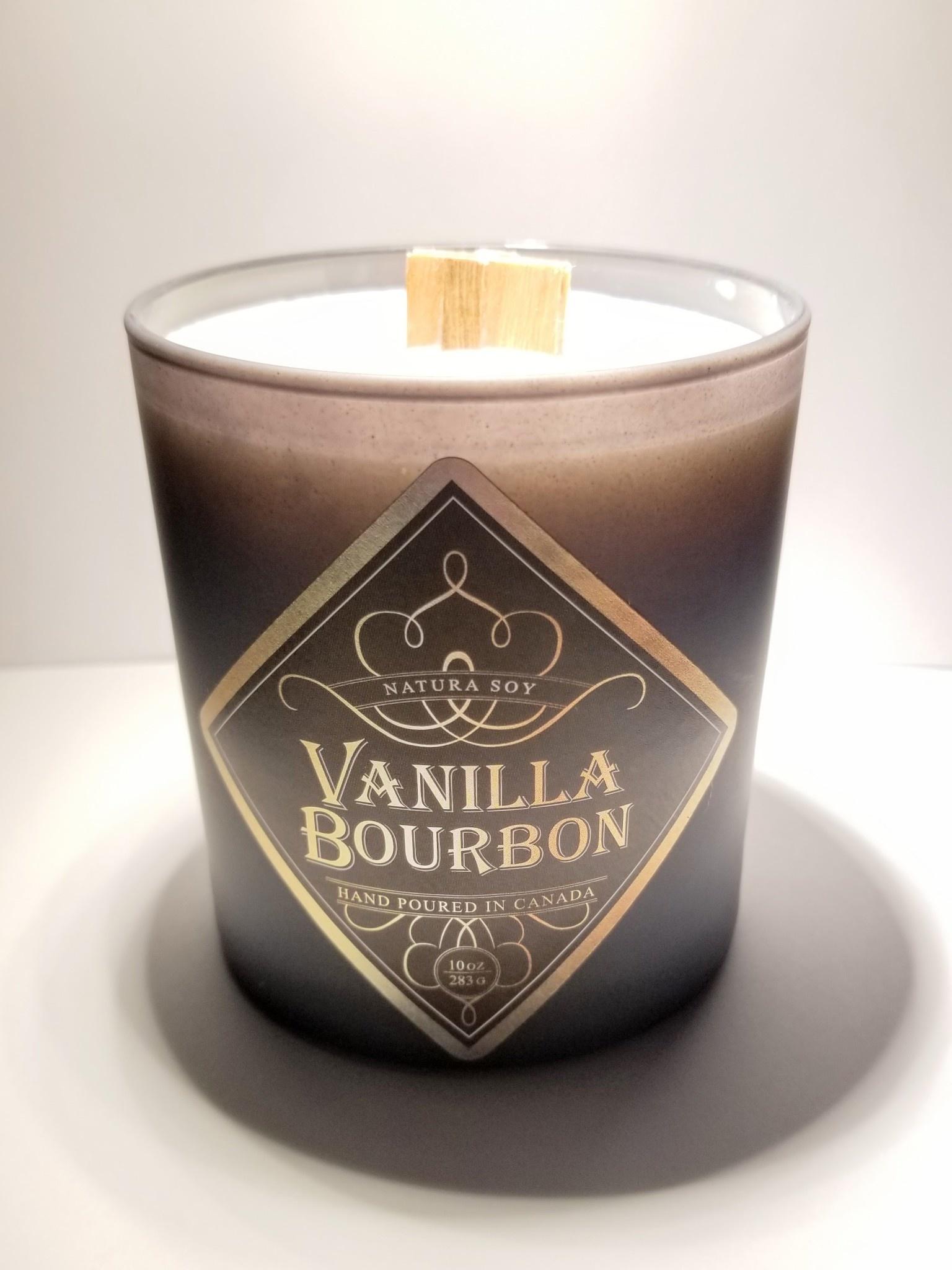 Natura Soy Man Candle: Vanilla Bourbon