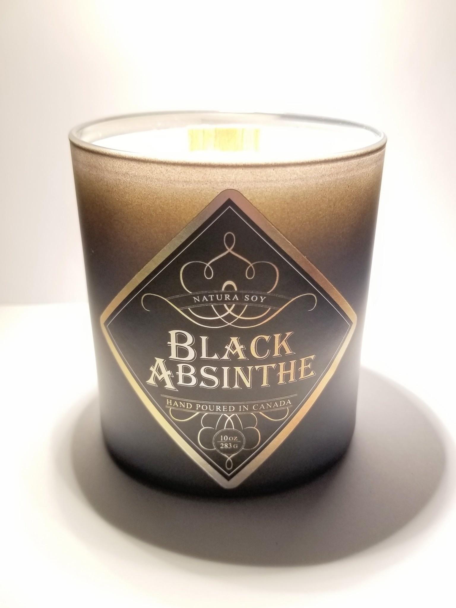 Natura Soy Man Candle: Black Absinthe