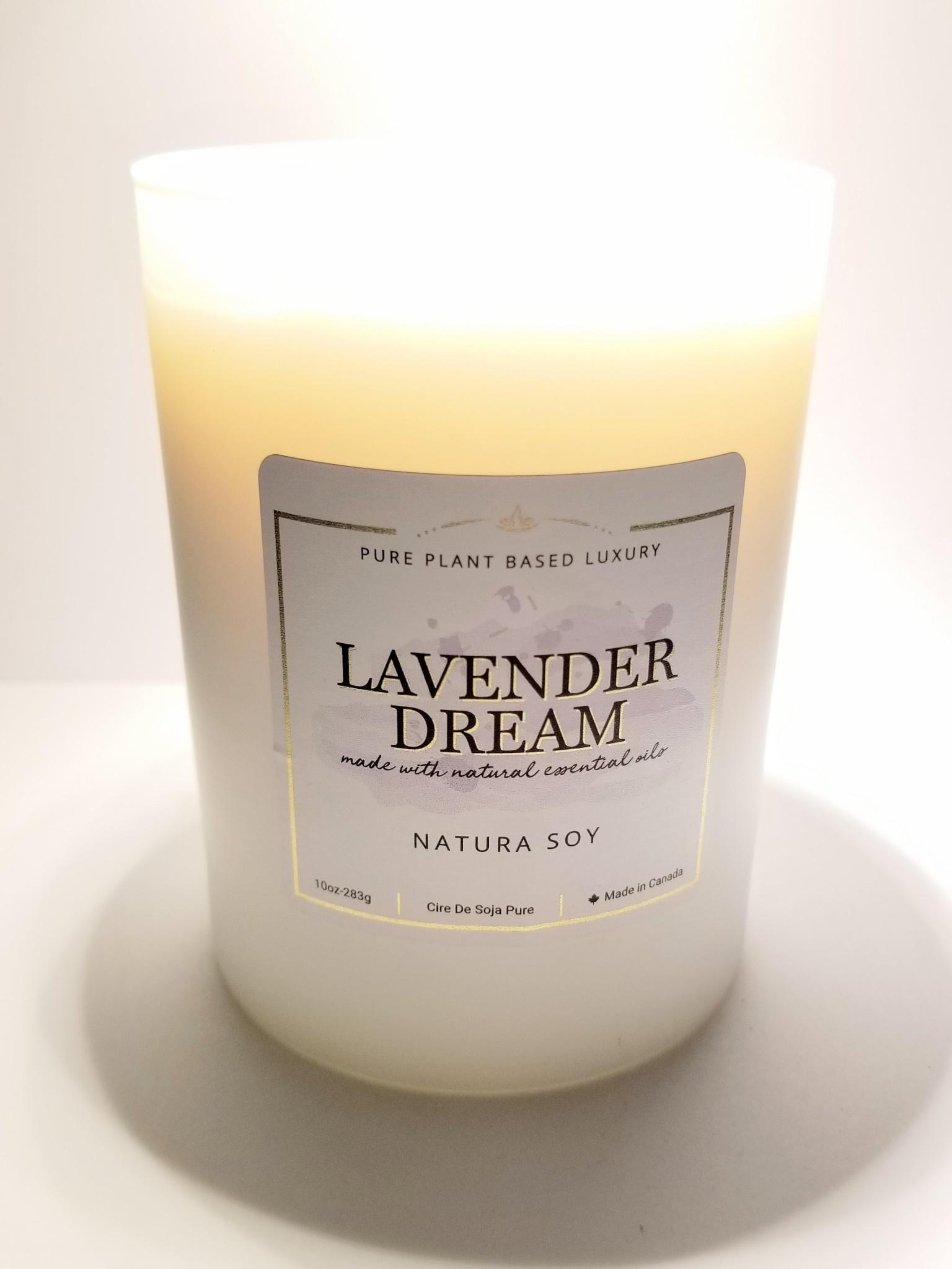 Natura Soy Tumbler Jar: Lavender Dream