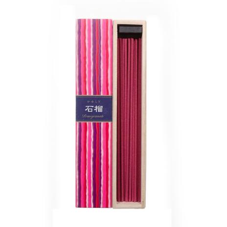 Nippon Kodo Kayuragi Incense Sticks: Pomegranate