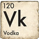 Vodka - Marble Coaster