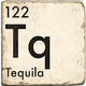 Tequila - Marble Coaster