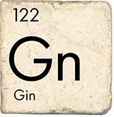 Gin - Marble Coaster