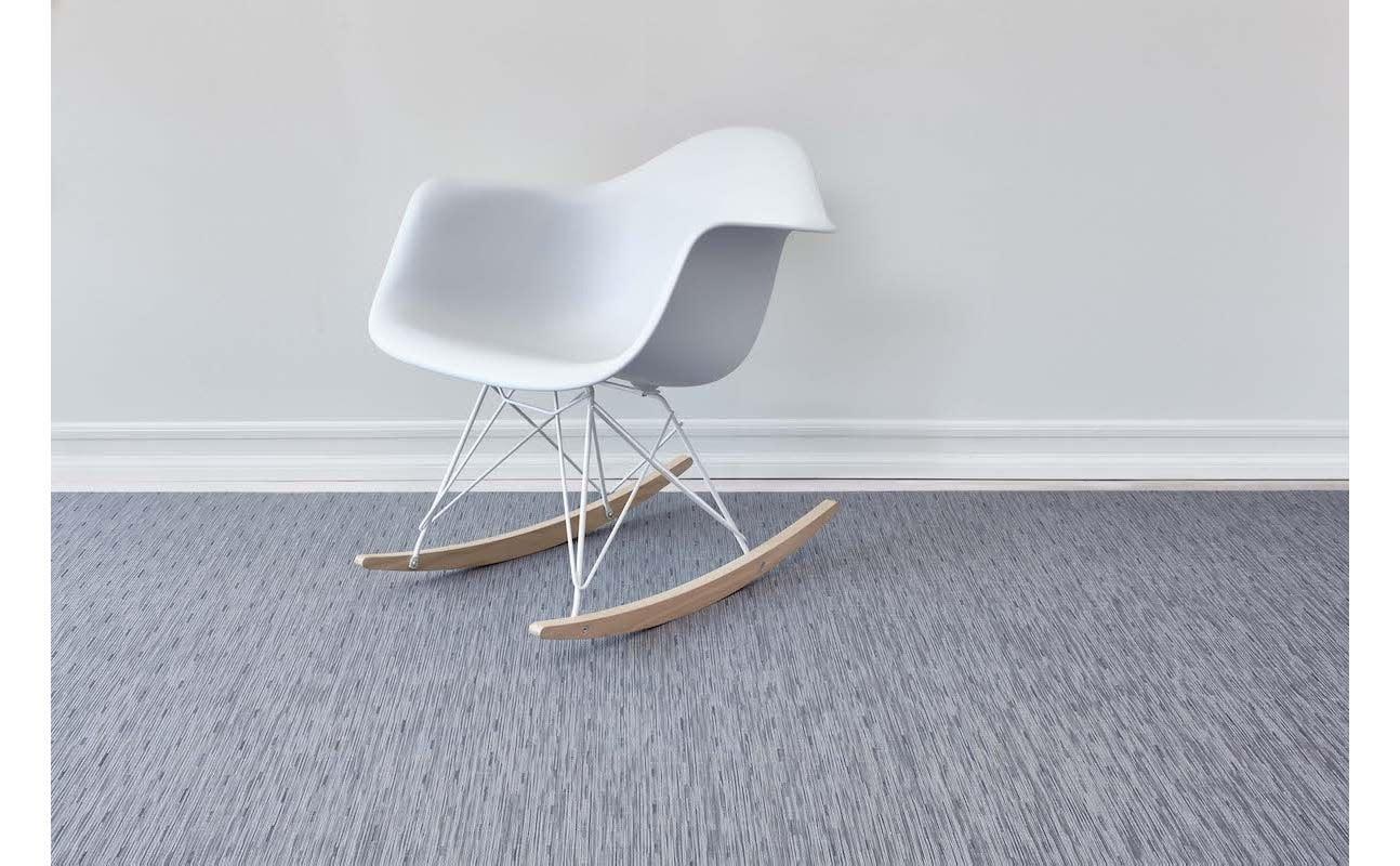 Chilewich LTX Floormat 35x48: Bamboo FOG