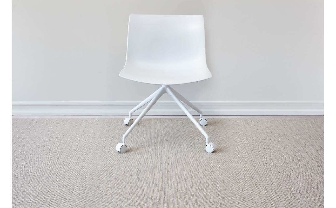 Chilewich LTX Floormat 35x48: Bamboo OAT