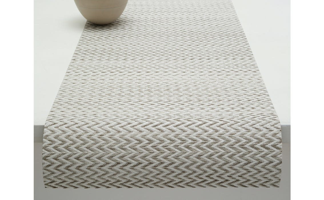 Chilewich Table Runner 14x72: Quill SAND