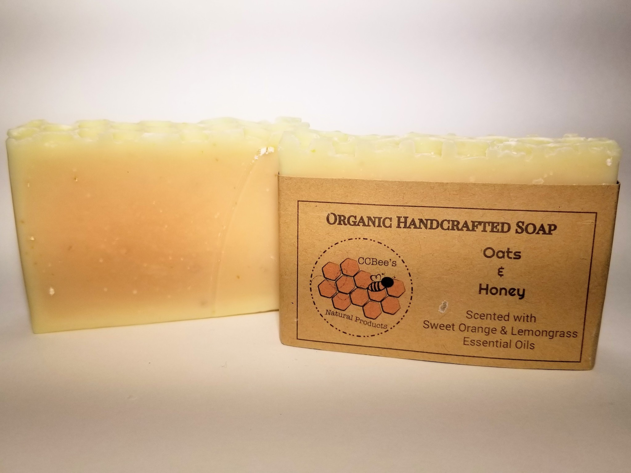 CCBee's Natural Products Soap: Oats 'n Honey