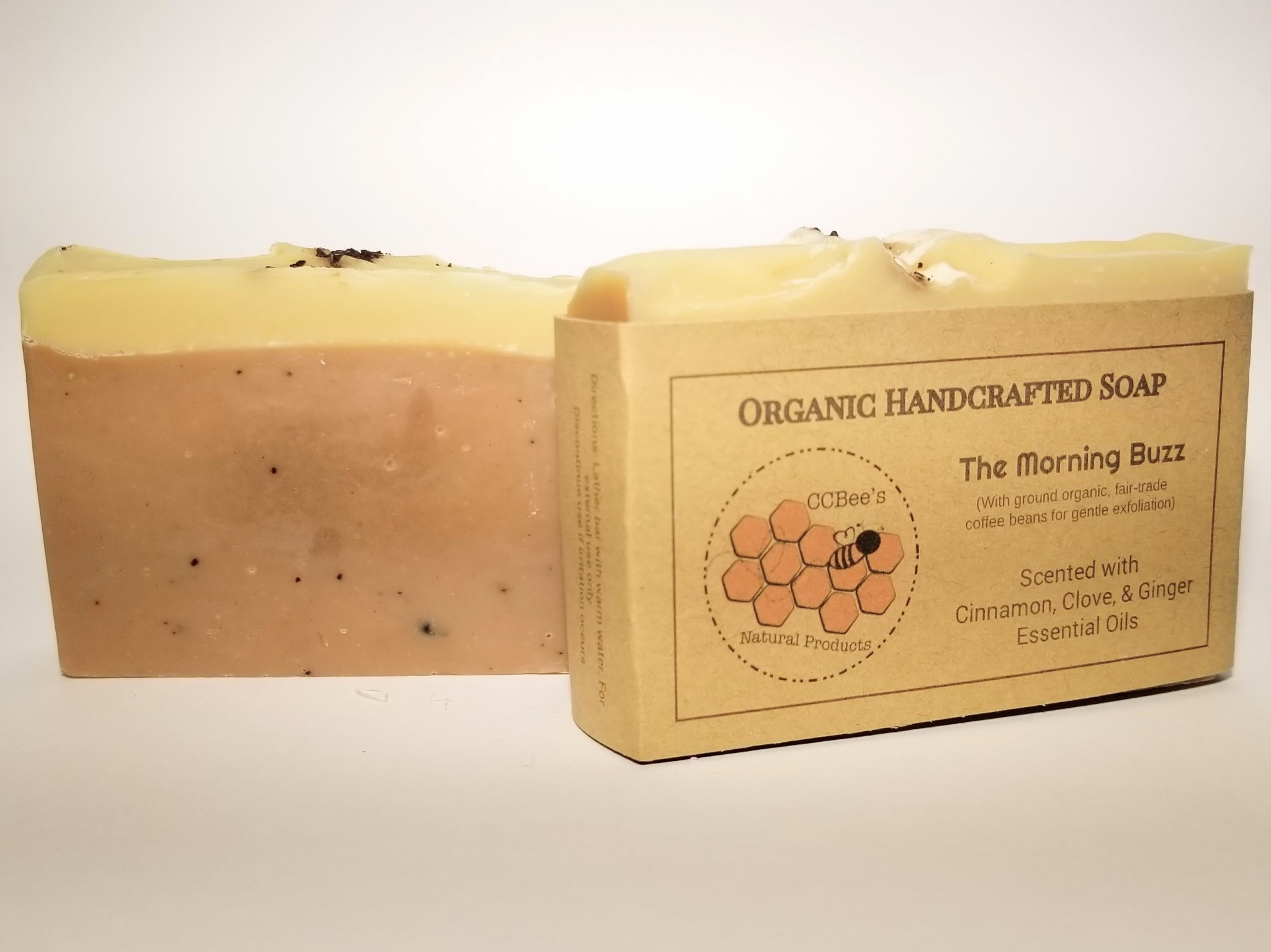 CCBee's Natural Products Soap: Morning Buzz