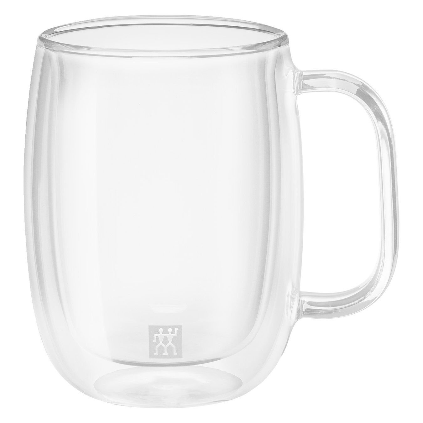 Sorrento Plus 2-Piece Glass Coffee Mug Set 355ml