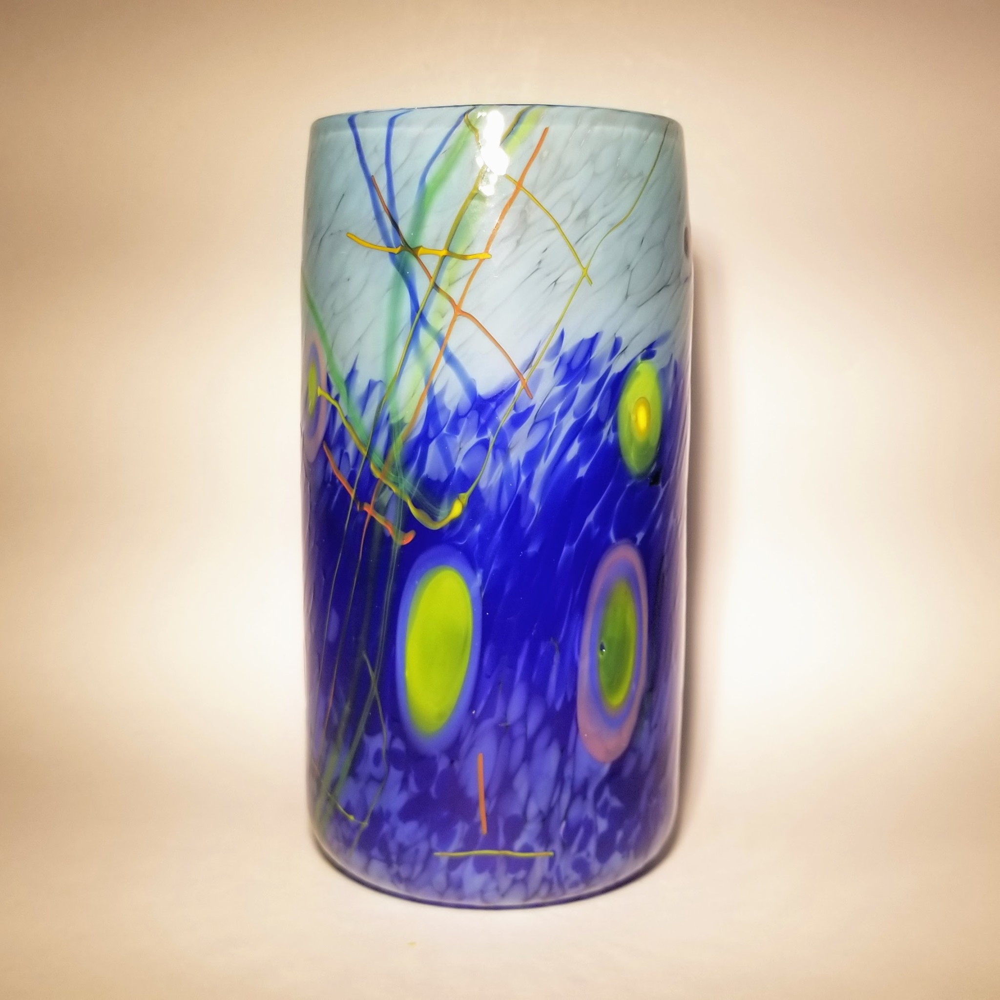 Sparrow Glassworks Forget Me Not Large Cup