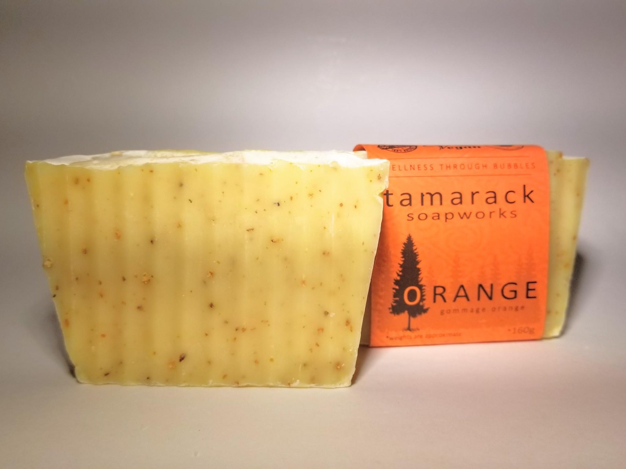 Tamarack Soapworks Tamarack Soapworks Orange Bar Soap