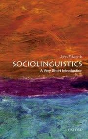 Oxford University Press Sociolinguistics: A Very Short Introduction