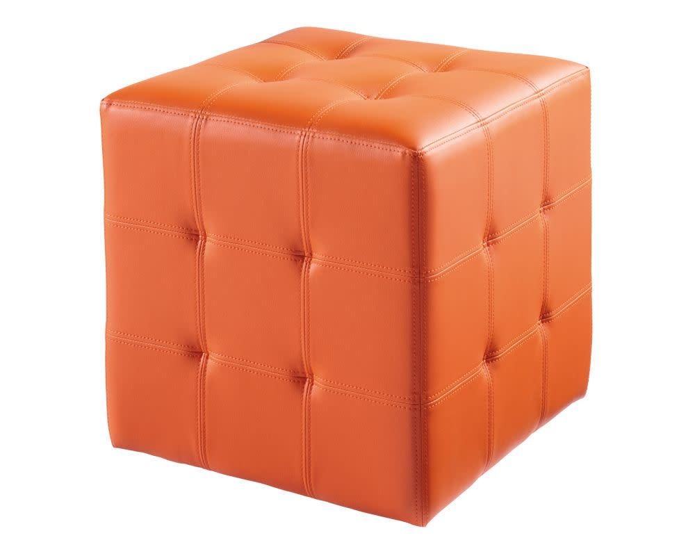 Sunpan Dario Ottoman - Orange