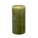 "Carsim Trading Inc Pillar Candle 5.5"" - Olive"