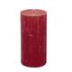 "Carsim Trading Inc Danish Pillar Candle 2""x4 3/4 - Red"