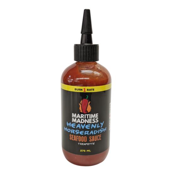 Maritime Madness Heavenly Horseradish Hot Sauce