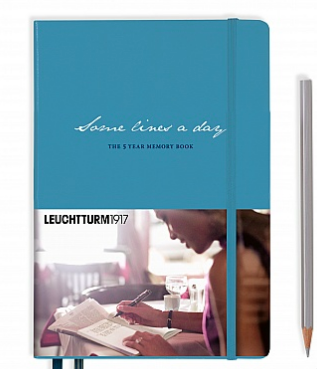 Leuchtturm1917 The 5 Year Memory Book Medium (A5)