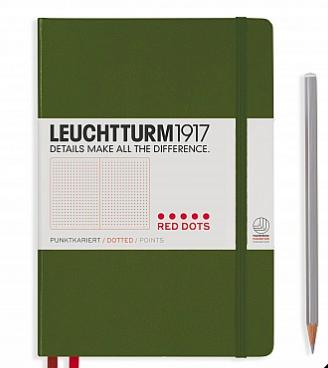 Leuchtturm1917 Notebook Red Dots Medium (A5)