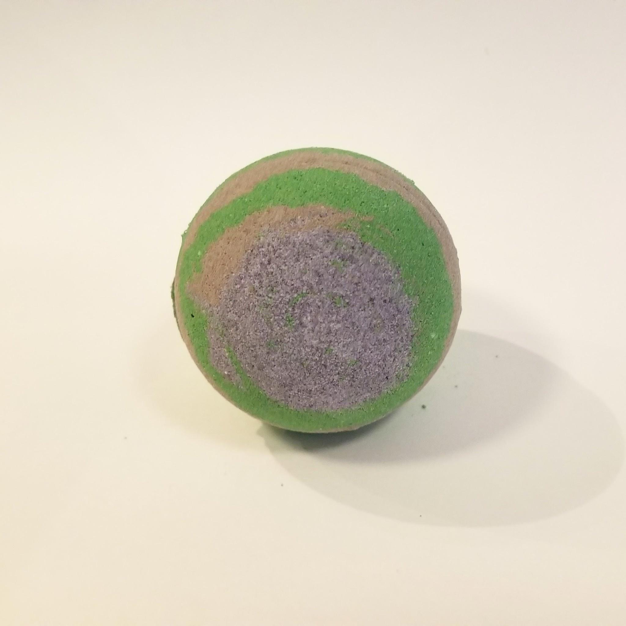 Flower Child Bath Bomb: Slytherin