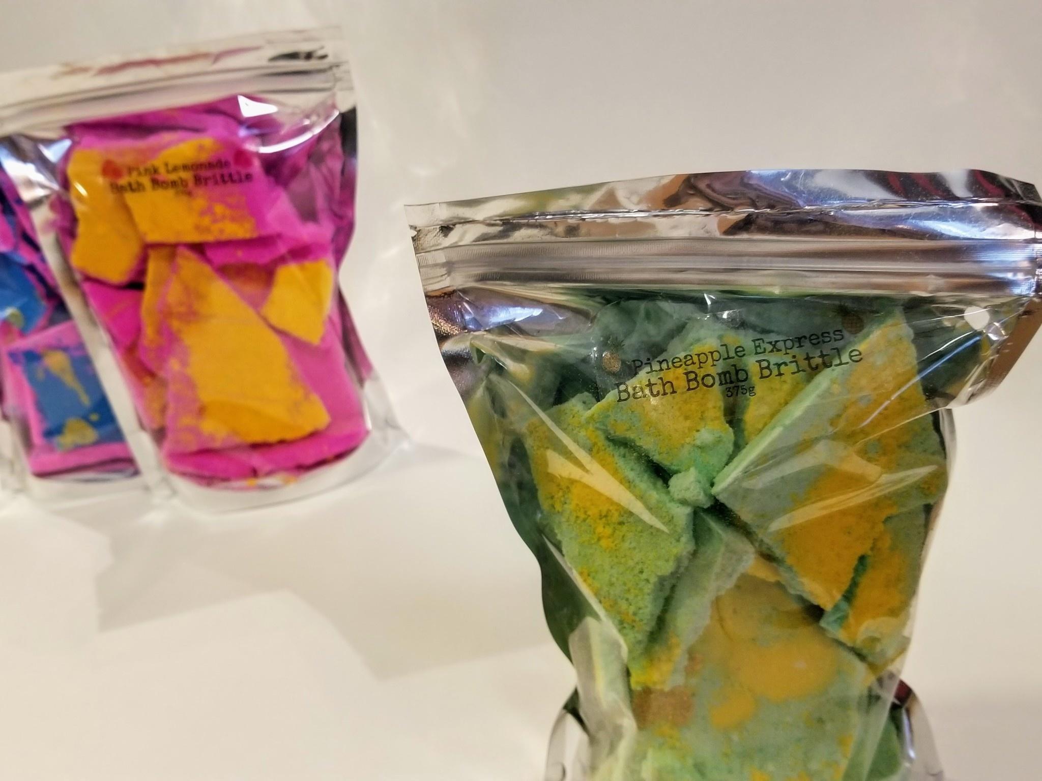 Flower Child Bath Brittle: Pineapple Express