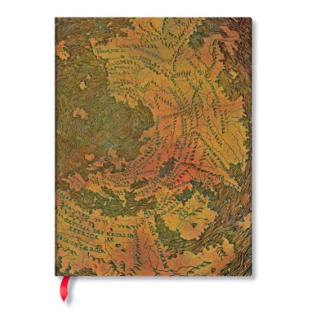 Paperblanks Ultra Flexis Lined: Hunt-Lenox Globe