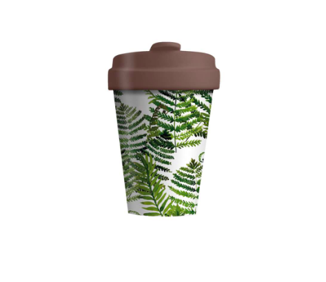 Chic.Mic Bamboo Cup Green Leaves