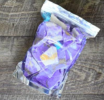 Flower Child Bath Brittle: Grapes of Bath