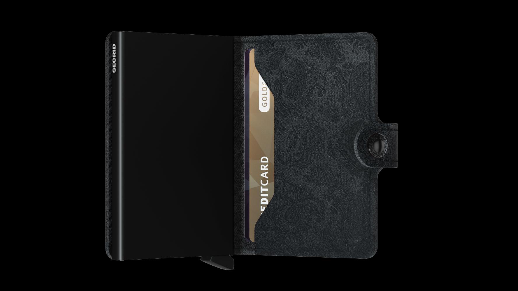 Secrid Miniwallet Black Paisley