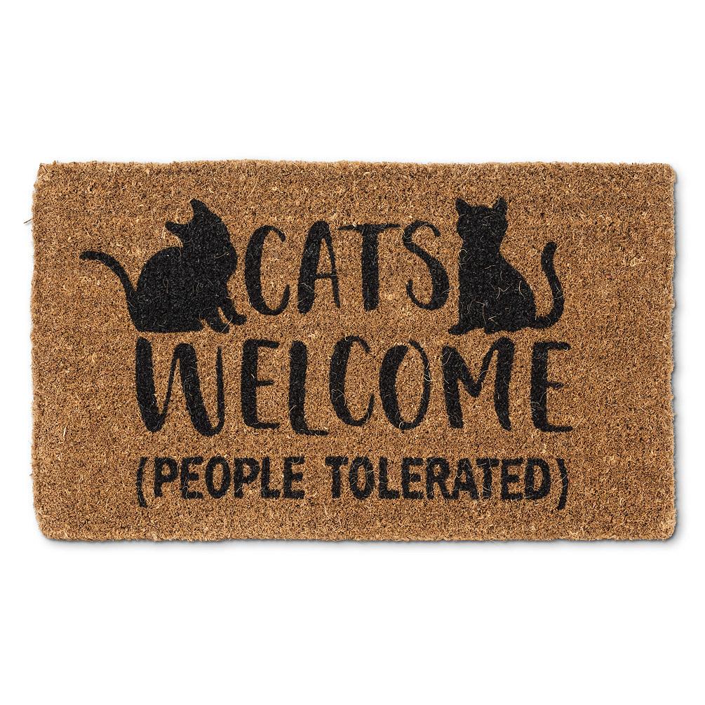 Abbott Doormat - Cats Welcome