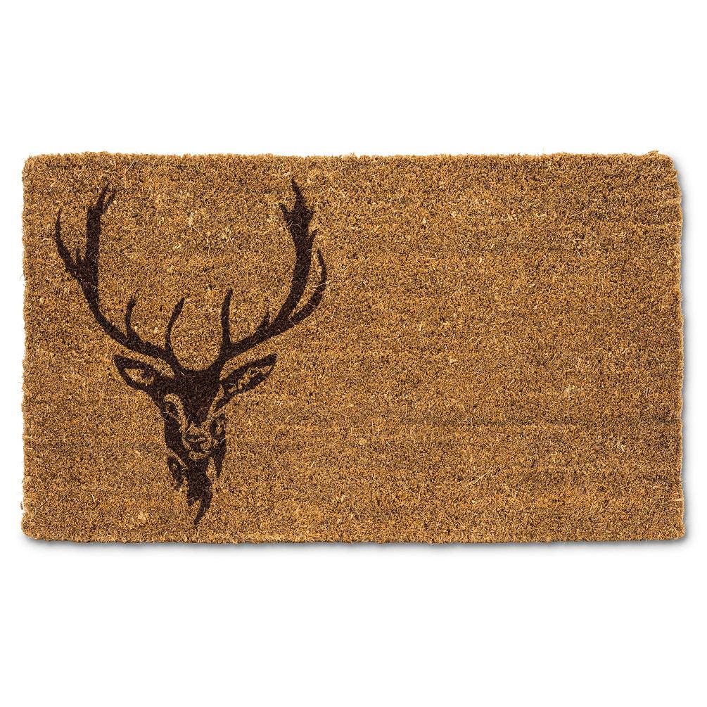 Abbott Doormat - Stag Head
