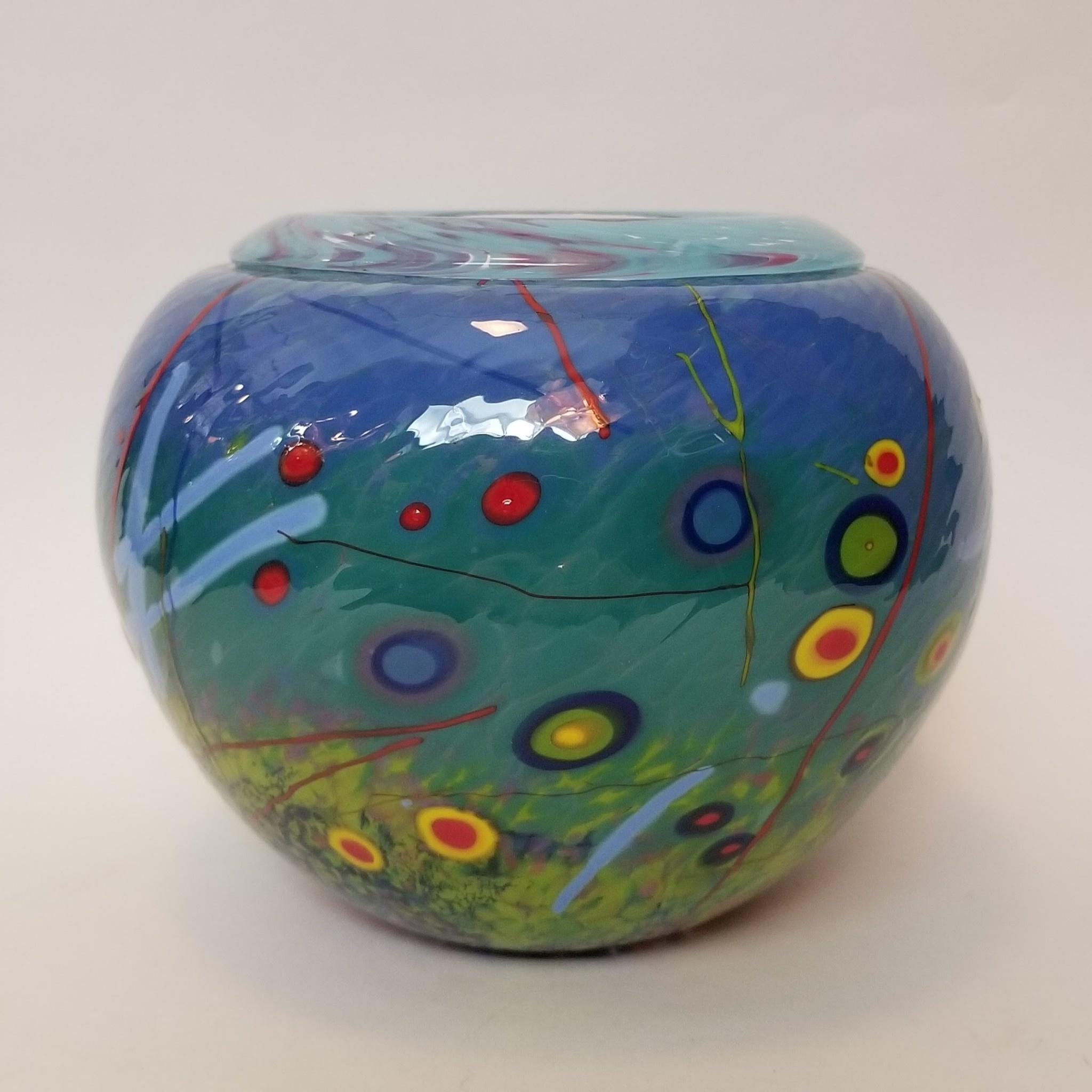 Sparrow Glassworks Folded Rim Vase - Large