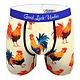 Good Luck Sock Mens Underwear: Roosters