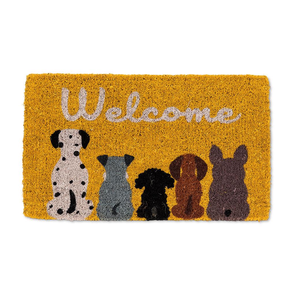 """Abbott Doormat - Dog """"Welcome"""""""