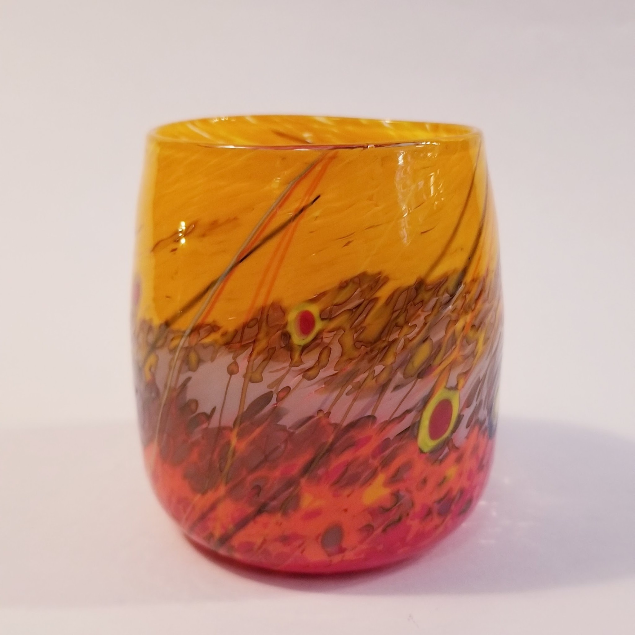 Sparrow Glassworks Forget Me Not Small Cup