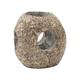 "4"" x 4 3/4"" Round Natural Stone Votive Holder"