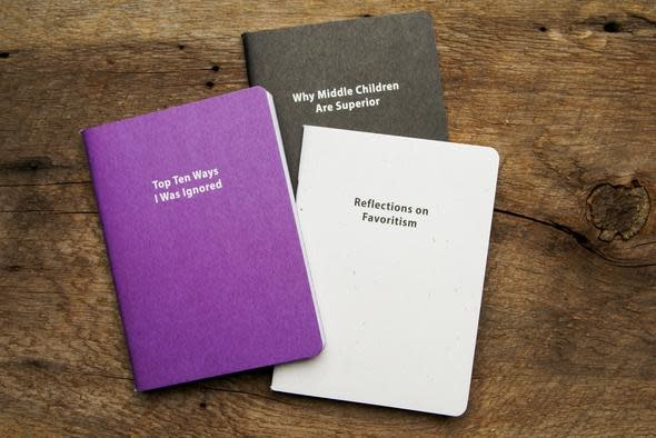 Whiskey River Soap Co. Journals - Middle Child