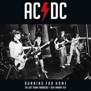 AC/DC -- Running for Home (The Lost Sydney Broadcast -- 30th January 1977) LP