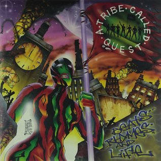 A TRIBE CALLED QUEST -- BEATS RHYMES & LIFE LP