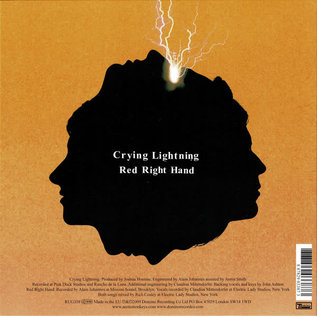 Arctic Monkeys ‎– Crying Lightning 7""
