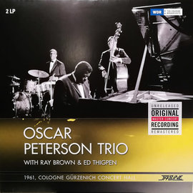Oscar Peterson Trio With Ray Brown & Ed Thigpen ‎– 1961, Cologne Gürzenich Concert Hall LP
